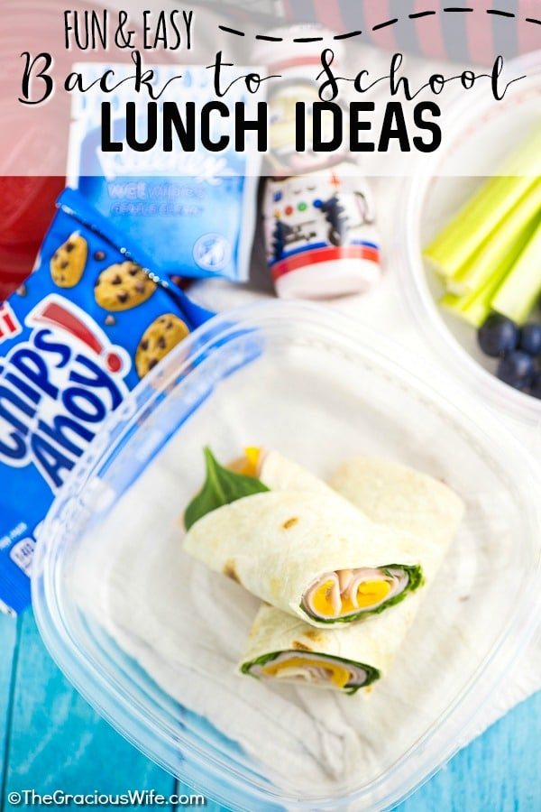 Super Fun and Easy School Lunch Ideas for Kids -Get ready for the school year with these super fun and easy school lunch ideas for kids that are healthy (AND they can actually pack themselves!). You can even prep and make ahead these healthy lunches! Plus, find three extra ways to add a little fun and a big smile to your child's school lunchtime!