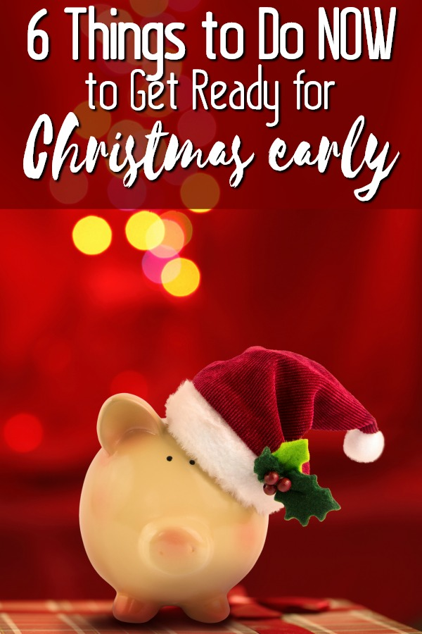It's not too early to start planning for Christmas!Have an amazing Christmas and holiday season this year without going broke or into debt! Create a budget, and make sure your wallet is ready for the holidays too! Start planning ahead with these 6 things you can do right now to be financially prepared for Christmas early.
